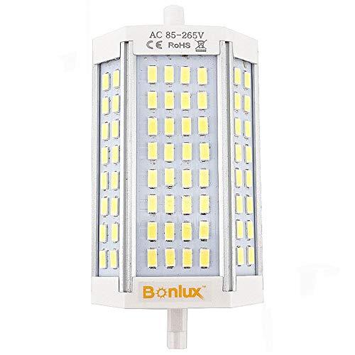 Bonlux R7S 118mm LED de intensidad regulable bombilla 30W, 200W, R7s, maletero...