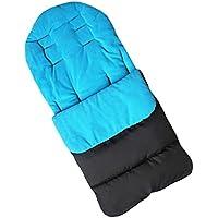 Saco de dormir y funda para pies de bebé de la marca Jiele, cómoda, cálida, resistente contra el viento