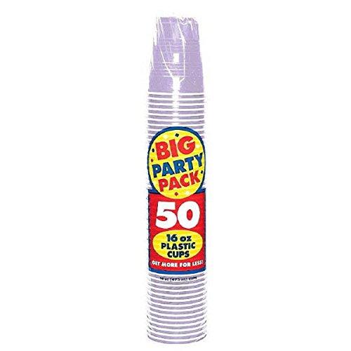Lavender Big Party Pack 16 oz. Plastic Cups Lavender Big Party Pack 16 oz? Plastic cups Halloween Christmas (japan import)