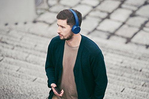 Sony WH CH500, Cuffie Wireless Bluetooth NFC con Durata della Batteria di 20 Ore, Grigio