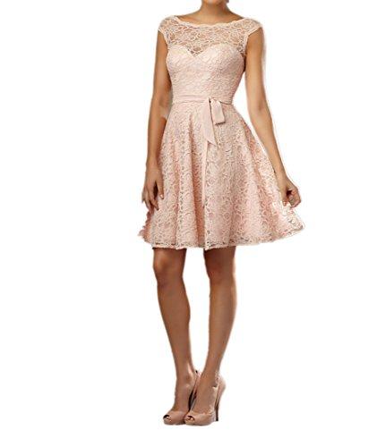 Charmant damen rosa spitze cocktailkleider abendkleider - Coole partykleider ...