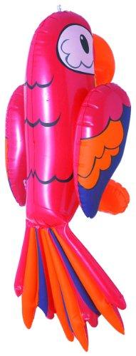 Widmann 2465P - Deko Papagei aufblasbar, circa 60 cm (Halloween Joker-kostüm)
