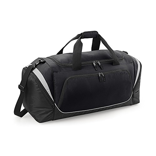 Quadra – Sport-/Reise-tasche Grand Volume 114 L – qs288 – Pro Team Jumbo Kit Bag Schwarz/Grau