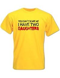 Homme T-Shirt Cadeau Fête Des Pères Impossible De Me Faire Peur