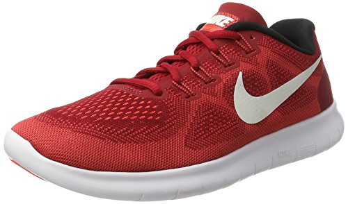 Nike Herren Free Rn 2017 Laufschuhe, Rot (Game Red/Off White/Track Red), 41 EU