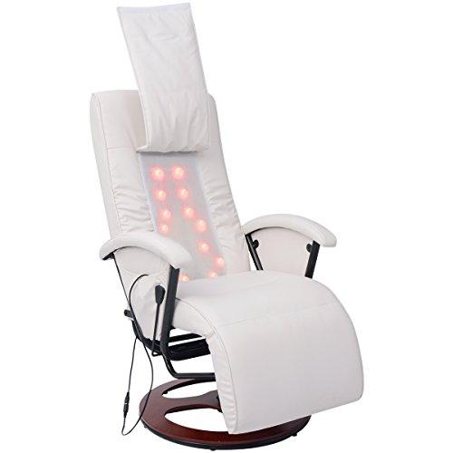 Preisvergleich Produktbild vidaXL Massagesessel Fernsehsessel Relaxsessel Liegesessel TV Sessel Shiatsu