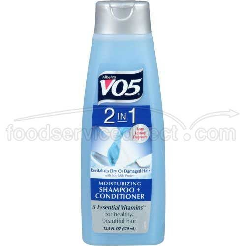 Alberto VO5 2 IN 1 Moisturing Shampoo + Conditioner 12.5OZ (Pack of 6) by Unknown