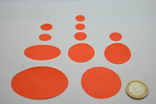 Doudoune First Aid Kit Patch de réparation (couleur orange)