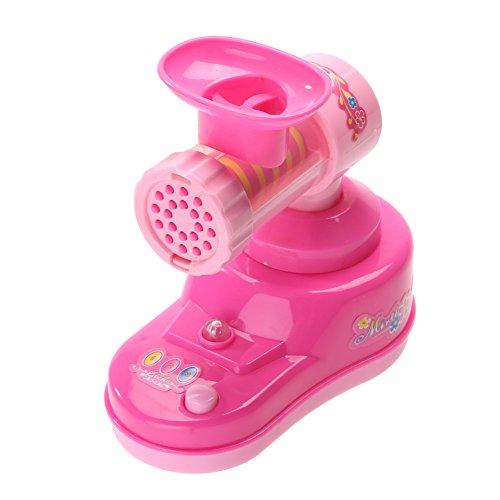 Preisvergleich Produktbild Demiawaking Mini elektrisches Fleisch Fleischwolf Schleifer Maschine scherzt Kind Spiel Haus Spielzeug Geschenk