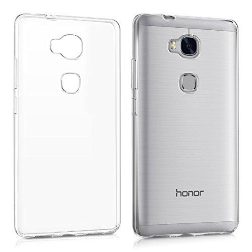 kwmobile Huawei Honor 5X / GR5 Hülle - Handyhülle für Huawei Honor 5X / GR5 - Handy Case in Transparent