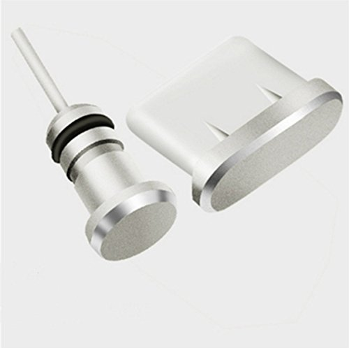HOMEYU® Premium Aluminium Anti-Staub-Stecker USB C USB Typ C und Kopfhörer-Stecker/SIM-Karten-Entferner für Samsung Galaxy S9, S9 Plus, S8, S8 Plus, Hinweis 8 -