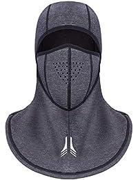 013a26150d696 Arcweg Pasamontañas Balaclava Moto Hombres Máscara de Invierno para Esquí  Ciclismo A Prueba de Viento Cálido