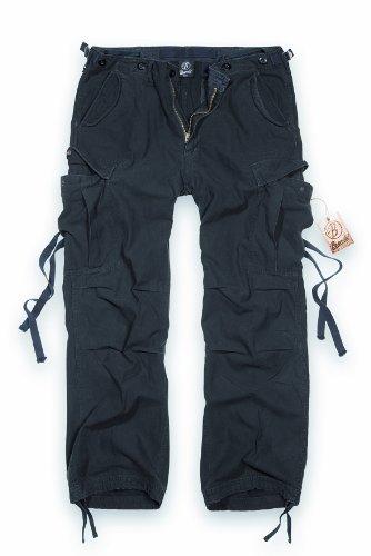 Vintage Hose (Brandit M65 Vintage Trousers Freizeithose schwarz L)