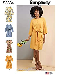 2d73cbcb6a3a Simplicity US8834D5 S8834 - Cartamodello per abito da donna