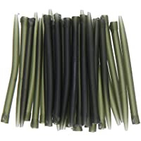 Occitop - 30 piezas de mangas antiadherentes con gancho para pesca de carpa