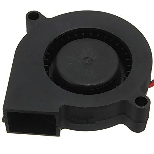 wishfive 1003D Drucker 12V DC 50mm * 50mm Blow Radial Lüfter -