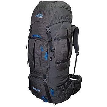 Mochila de Trekking 100L + 20L TASHEV MOUNT 120 litros - Mochila con cubierta impermeable