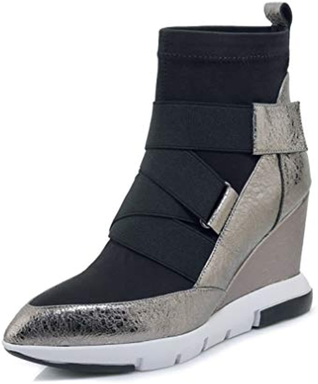 HY Scarpe Casual da Donna, Moda Autunno Inverno Calze Moda Casual Scarpe da Donna, Stivaletti alla Moda per Donna... | Buy Speciale  | Scolaro/Signora Scarpa