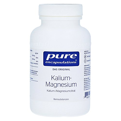 Kalium-Magnesium (Citrat) 180 Kapseln pure encapsulations
