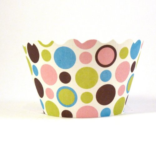Bella Couture Mini Dorothy Polka dots Cupcake Wrappers Dorothy Dots