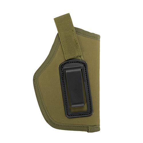 Vosarea Waffenholster Universal Pistole Trageholster Pistolenhalfter (Grün)