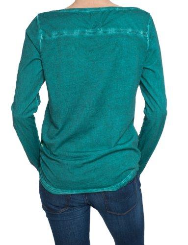 Replay Damen Langarmshirt W3376.000.21016C Grün (763jade green)