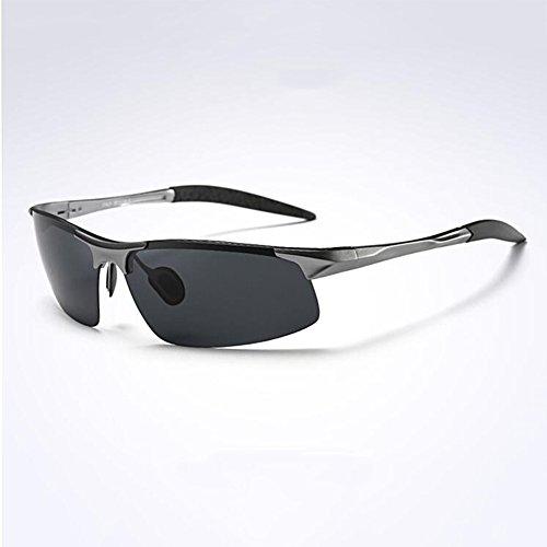 Honey Personalisierte Sport polarisierte Sonnenbrille - High-End-Luftfahrt Aluminium Magnesium Frame - Herren Reitbrille (Farbe : 3)