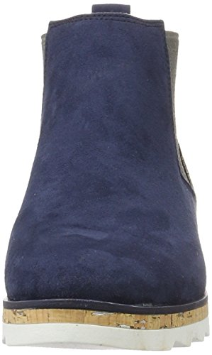 Marco Tozzi 25401, Bottes Classiques Femme Bleu (Navy Comb 890)
