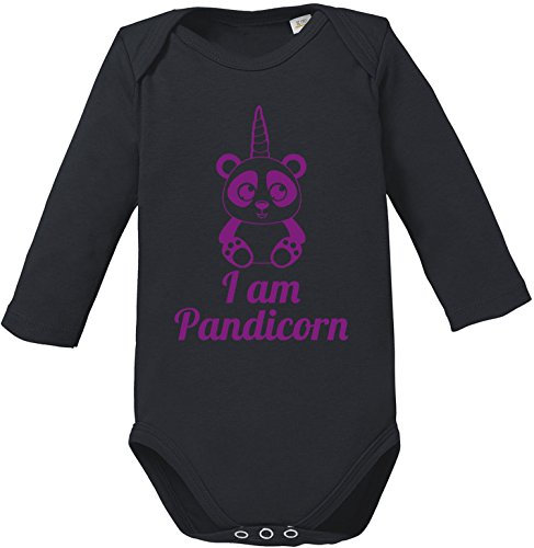 EZYshirt® Pandicorn Baby Body (Pandicorn Kostüm)