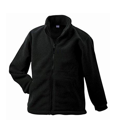 2Store24 Full-Zip Fleece Junior in Black Size: XXL