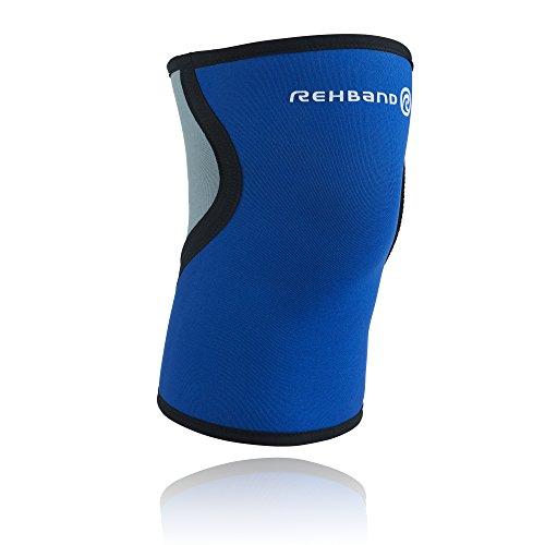 Rehband Herren Kniebandage 7953, blau, L