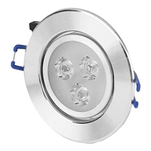 Neues 3W LED-optimiertes Design Deckeneinbau-Downlight-Spot-Lampe Birnenlicht W/Driver Rostschutz- und Korrosionsschutz (Farbe: Positivweiß) LED3W - Deckeneinbau-downlight