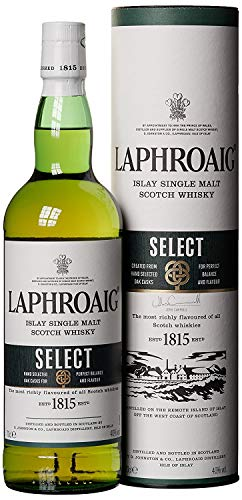 Laphroaig Select Islay Single Malt Scotch Whisky (1 x 0.7 ()