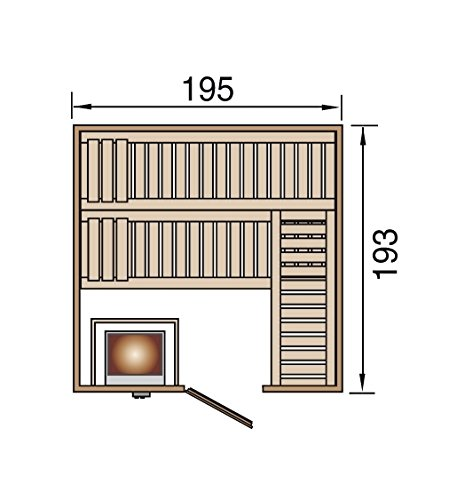 weka Design-Sauna KEMI 4 GTF Sparset