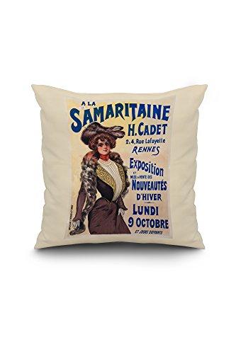 a-la-samaritaine-vintage-poster-france-18x18-spun-polyester-pillow-case-white-border