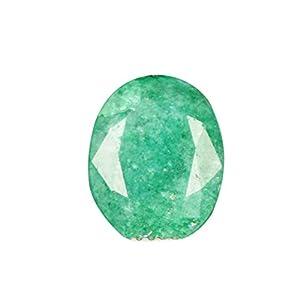 2.95 Ct. Oval Cut Egl Zertifiziert Edelstein/natürliche grüne Smaragd/lose Edelstein Geschenkidee AO-088