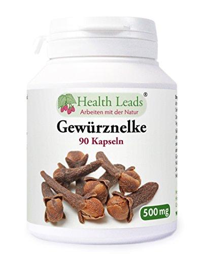 Gewürznelken (Syzgium aromatica) 500 mg x 90 Gelatinekapseln (100% ohne Zusatzstoffe!)