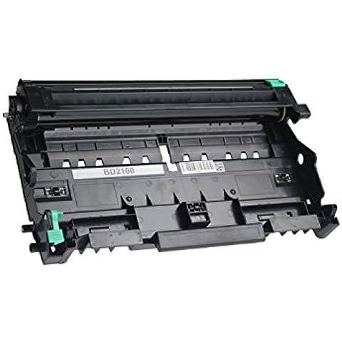 Compatible con Brother TN-2120 - cartucho de tóner - Colour negro (9) 1 x DR-2100