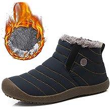 9ba50cbb689e SITAILE Herren Damen Winterschuhe Schneestiefel Outdoor Knöchelhoch Boots  Stiefel Schuhe für Winter
