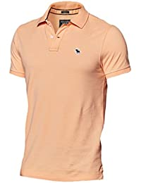 Abercrombie Herren New Icon Muscle Fit Polo Poloshirt Polohemd Shirt
