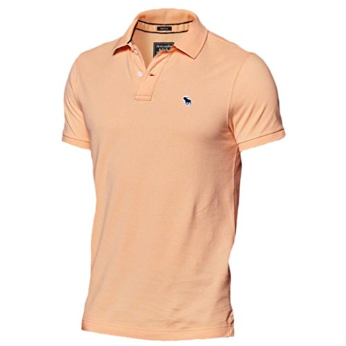 abercrombie-mens-new-icon-muscle-fit-polo-shirt-tee-size-s-orange-623097427