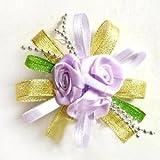 Alcoa Prime Rose Flower Bracelet Bridal Bridesmaid Wedding Party Wrist Corsage
