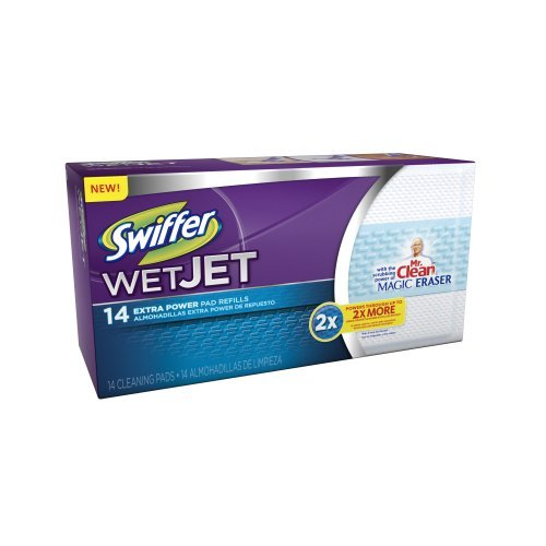 swiffer-wetjet-pads-with-the-power-of-mr-clean-magic-eraser-14-count-by-swiffer