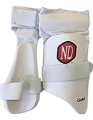 ND de cricket Mini Boys Batsman jambe protection cuisse Guard Combo Thighpad 4–7ans