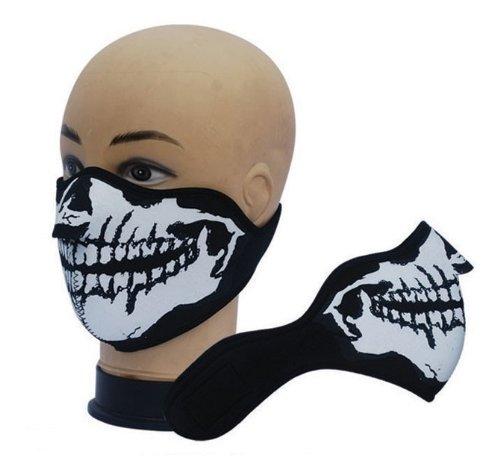 Bike Biker und Ski - Snowboard Maske Neopren