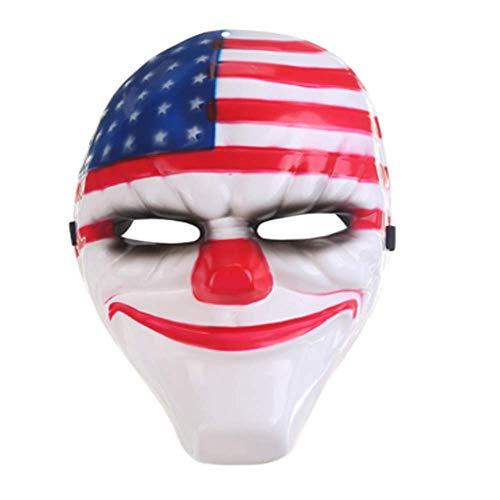 NUOKAI Halloween Horror Maske Prinzessin Maske Männlich Street Dance Handgemalte Maske