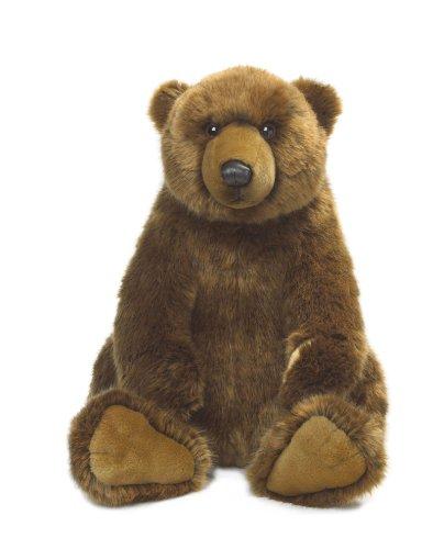 wwf-plusch-kollektion-wwf14584-pluschfigur-grizzly-sitzend-47-cm-braun-pluschtiere
