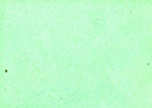 Lamali 22617 - Papel amate para manualidades (75 x 50 cm), color verde menta
