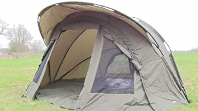 Carp-Zone Hurricane A.S (All Season) One Man Bivvy with Overwrap, Carp Fishing from Carp-Zone