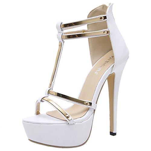 Azbro - Cinturino alla caviglia Donna Bianco